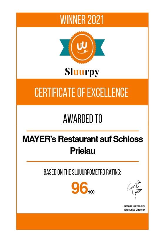Mayer's Restaurant Auf Schloss Prielau